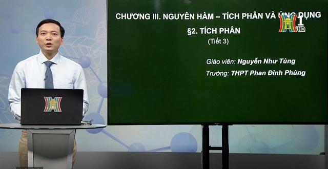 Đề nghị Bộ trưởng quy định rõ nội dung dạy học trên truyền hình, trực tuyến