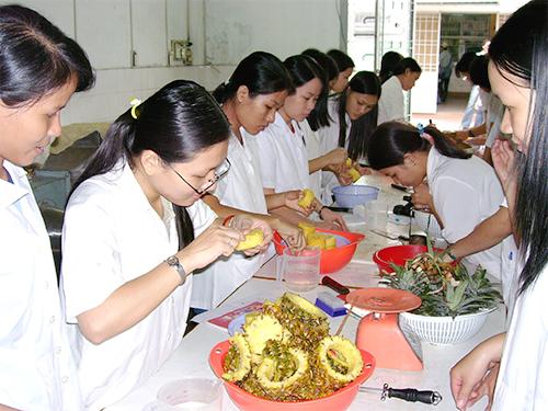 Phòng Thí nghiệm Chế biến Thực phẩm